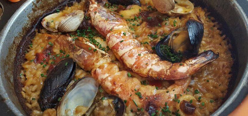 Restaurant Arume  Paella - The best restaurants in Barcelona