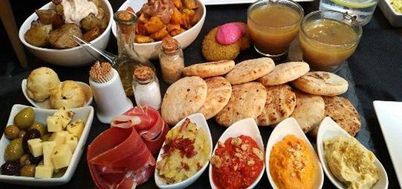 Ziryab Fusion Tapas bar and restaurant tapas
