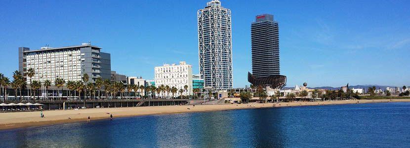 Barcelona 3 day itinerary - Barceloneta Beach