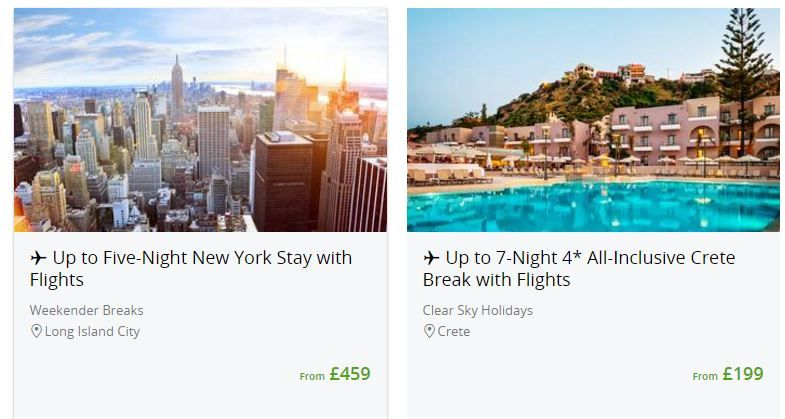 Groupon travel preview