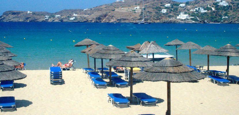 Shows a beach in Ios