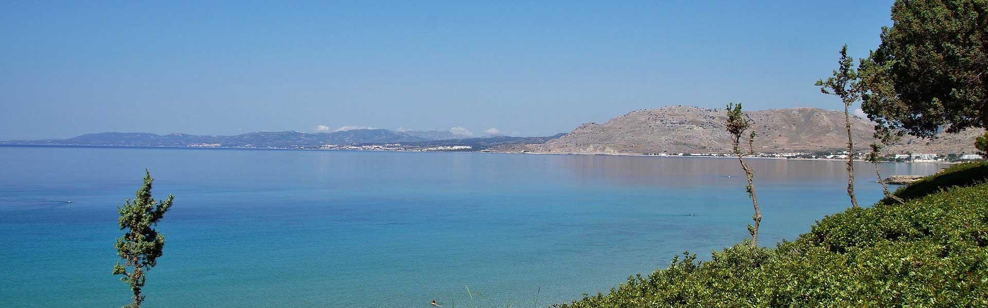 Best Pefkos Restaurants - View of Pefkos coastline