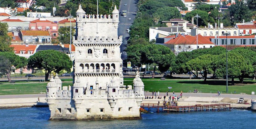 Things to do in the Algarve - Shows Belem Tower in Lisbon