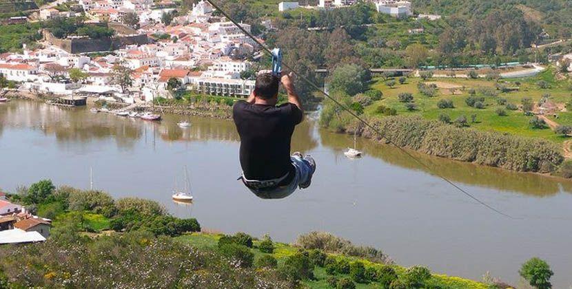 Things to do in the Algarve - Spanish border zipline