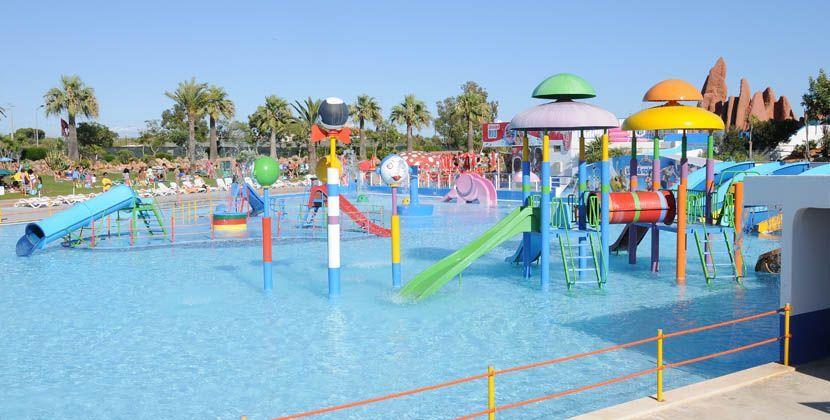 Shows Slide and Splash water park