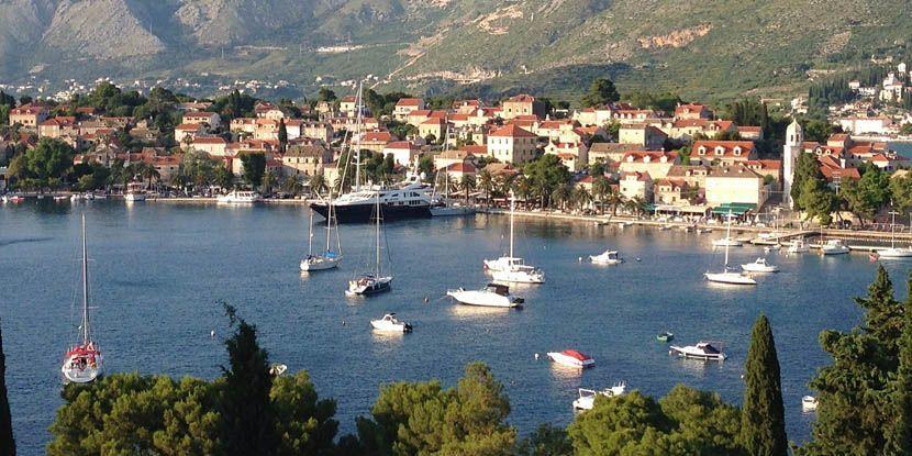 Cavat family holiday resort, Dubrovnik, Croatia