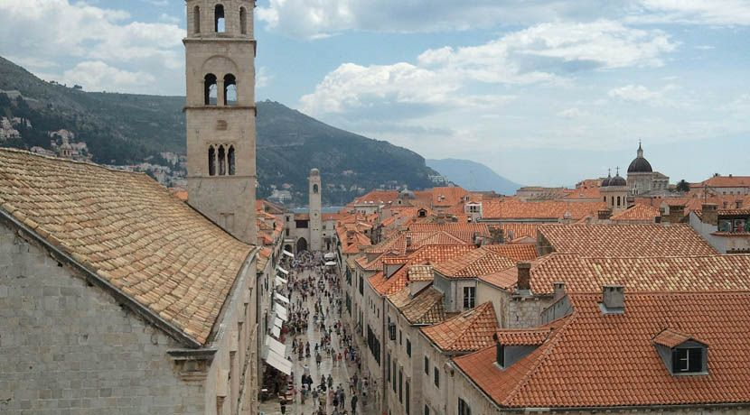 Where to go in Croatia - Shows street in Dubrovnik