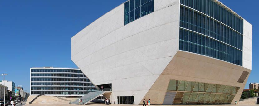 3 days in Porto - Shows Casa da Musica venue