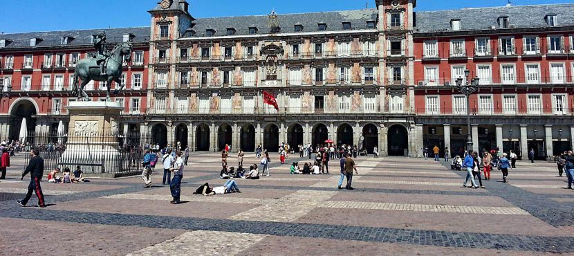 Top things to do in Madrid city break itinerary - Plaza Mayor