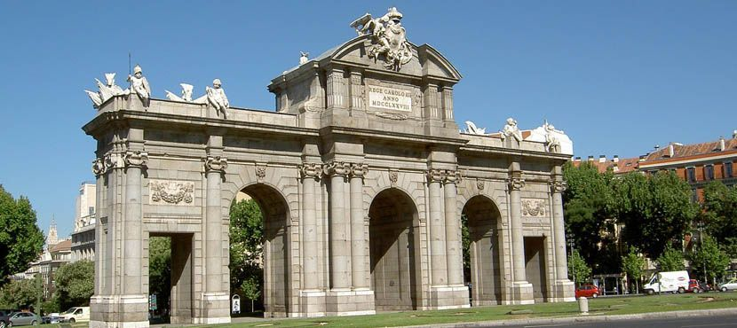 3 days in Madrid itinerary - Shows a monument in Madrid