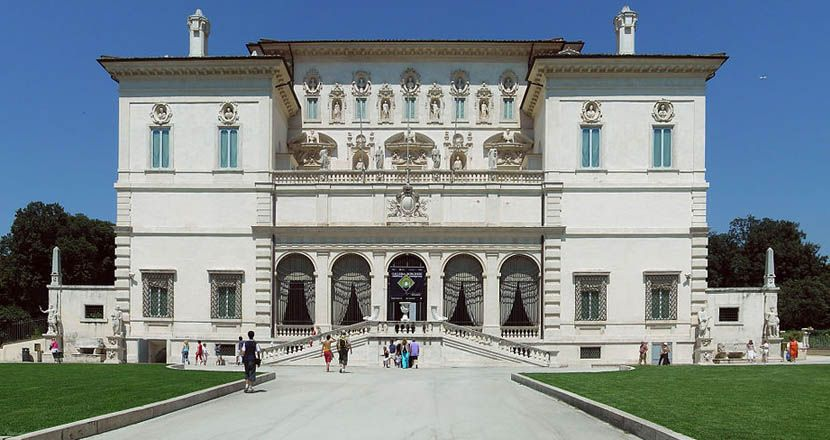 Shows Borghese Gallery