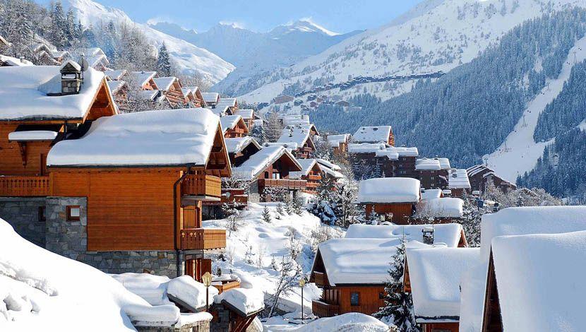 French ski resort comparison - Shows Meribel ski resort