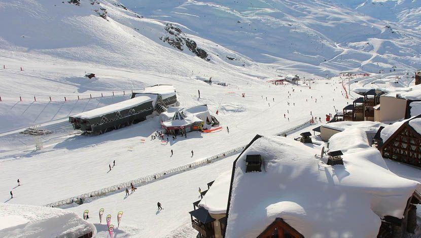 French ski resort comparison - Val Thorens