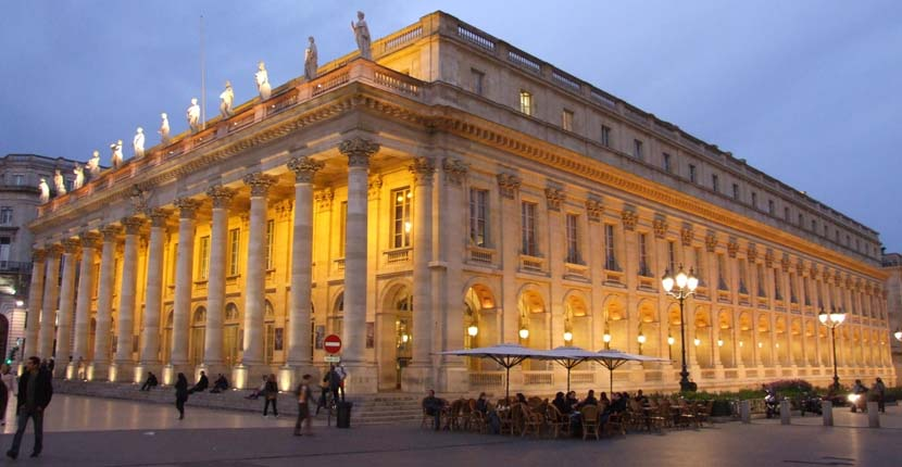 3 days in Bordeaux - Shows the Grand Theatre