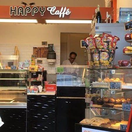 Happy Cafe Paris storefront