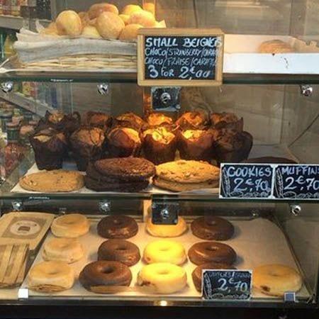 Happy Caffe Paris dessert counter