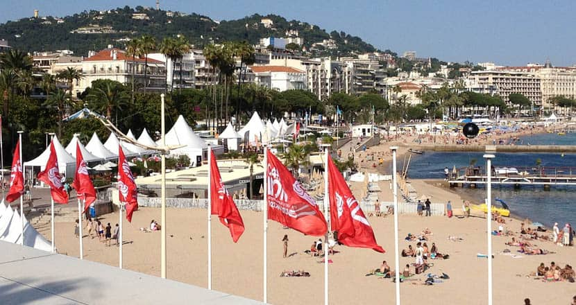 Plage Mace - Cannes beach