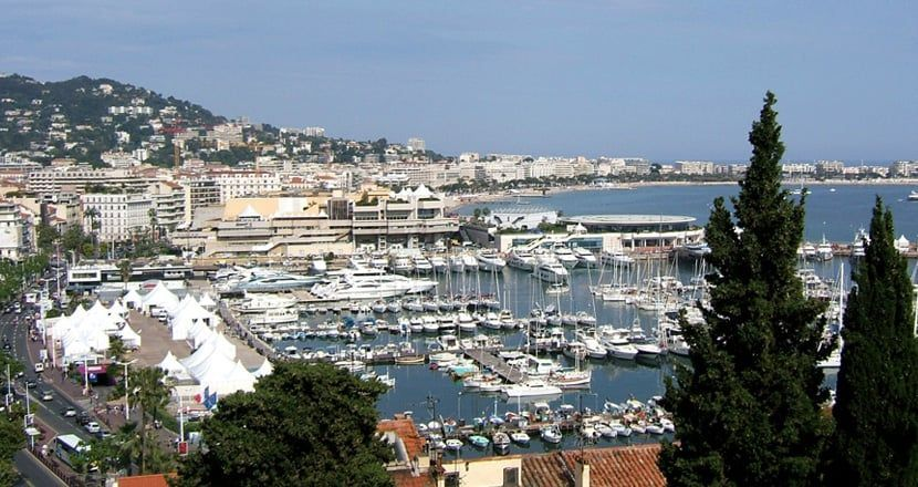 View from La Suquet mountain top in Cannes - 2 days in Cannes