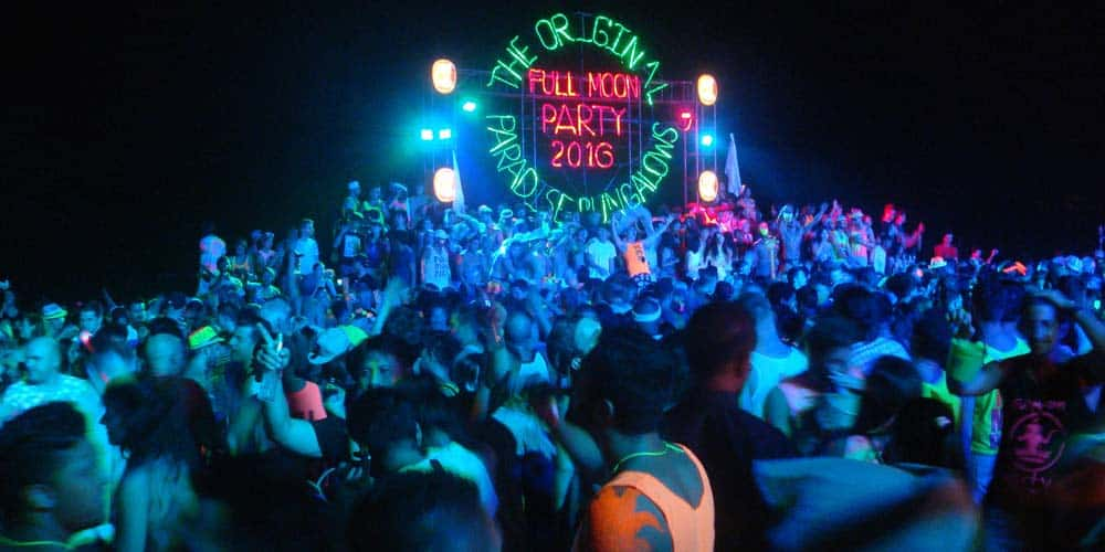 Koh Phangan Full Moon Party - Best islands in Thailand