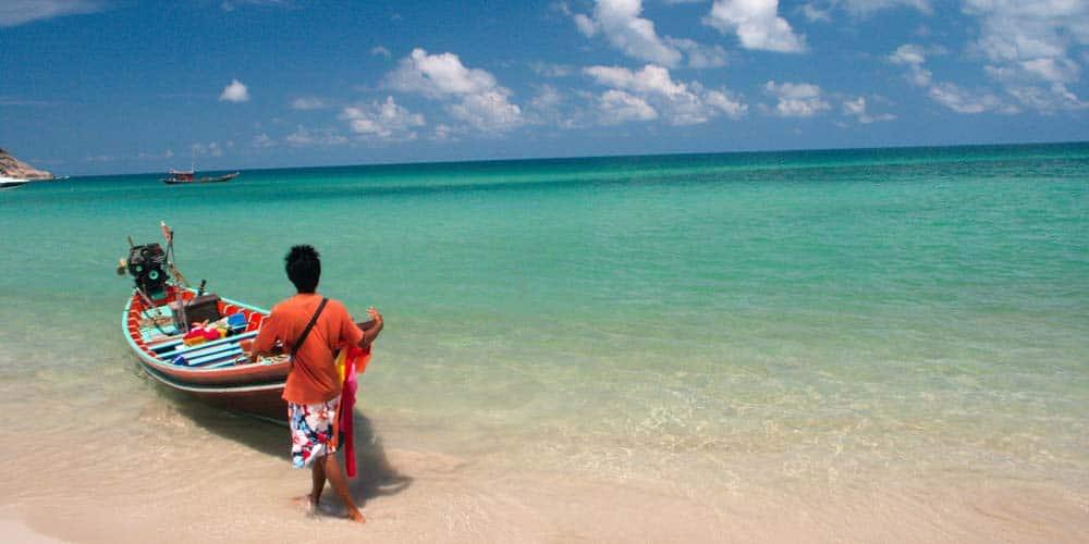 Ko Phangan beaches - Best islands in Thailand
