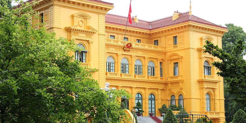 Hanoi two day itinerary - Shows Hanoi Presidential Palace