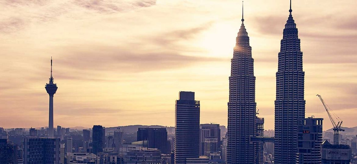 3 days in Kuala Lumpur itinerary - Shows KL skyline