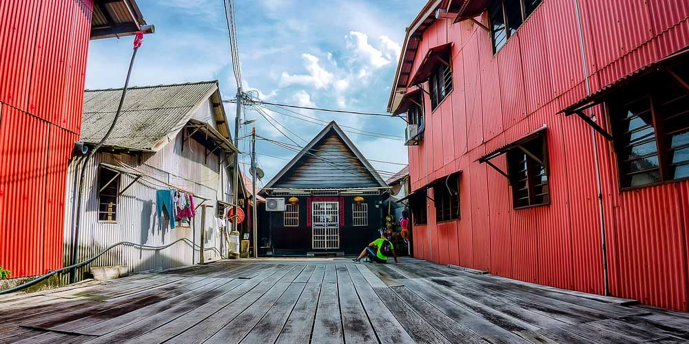 Shows Chew Jetty - Georgetown travel guide