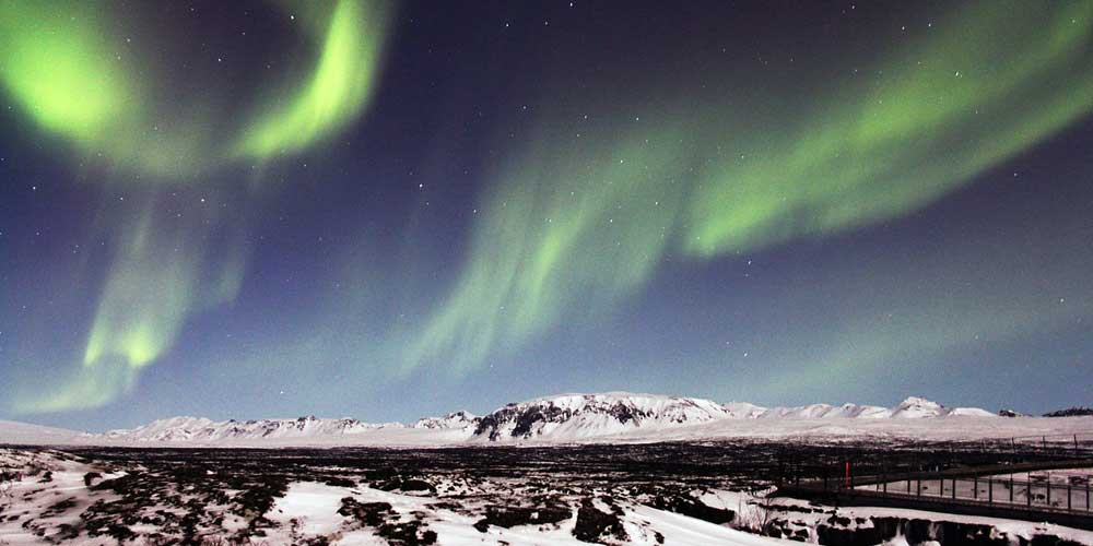 Iceland 3 day itinerary - Shows the Northern Lights