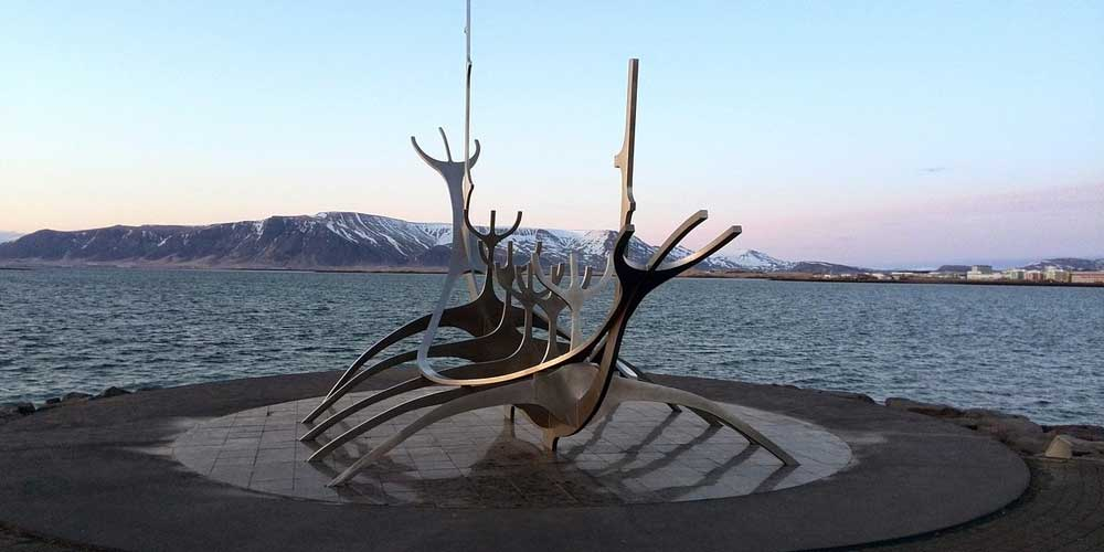 Shows Reykjavik Sea Voyager in Reykjavik