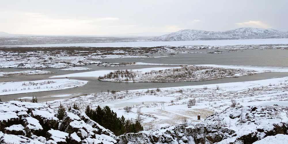 Thingvellir National Park scenery - 3 days in Iceland