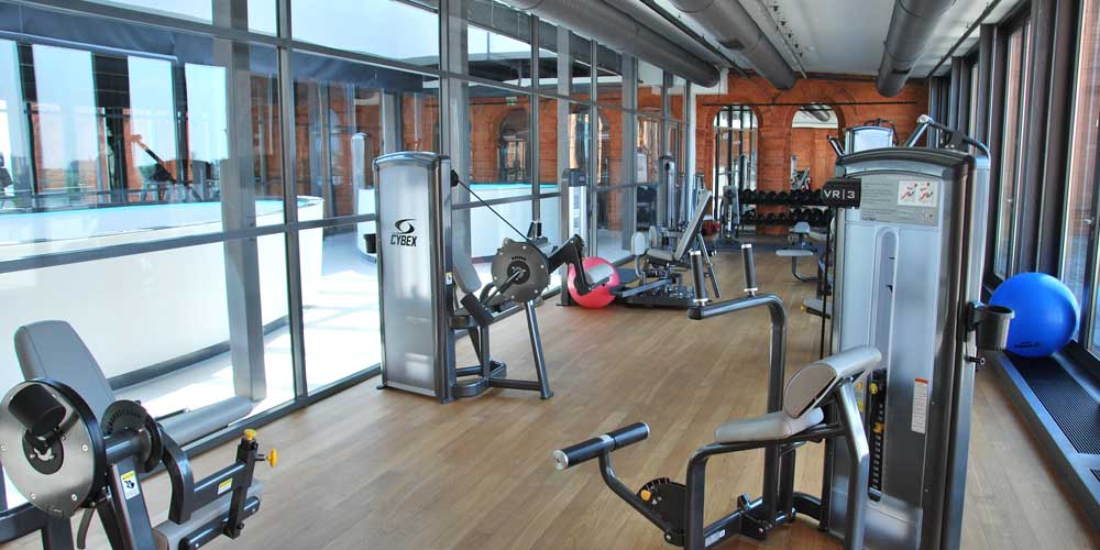 Visit the hotel gym- staying fit on holiday