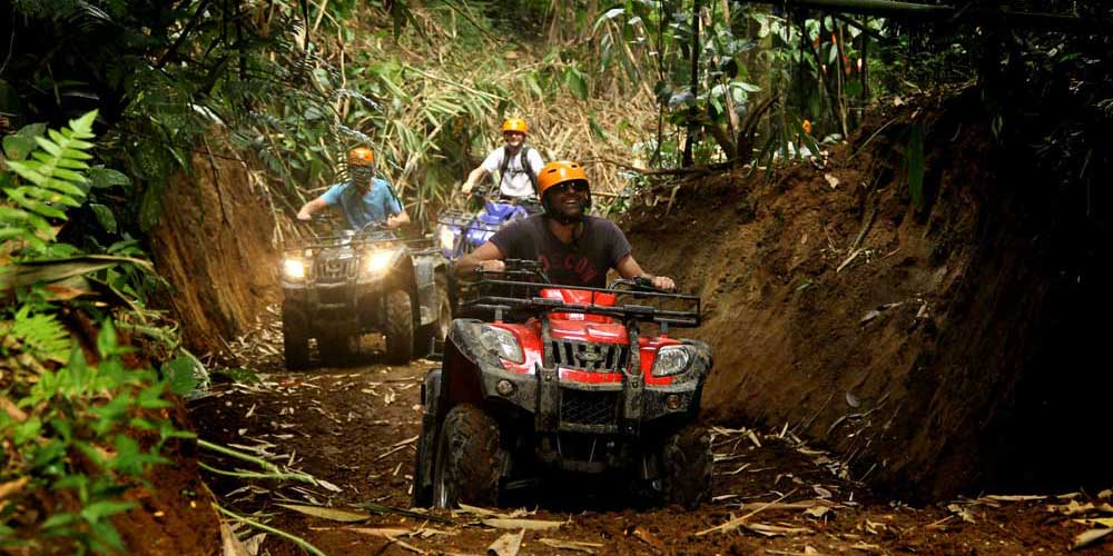 Quad Bike Tour - Adventurous things to do in Bali