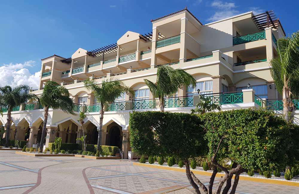 Main building - Lindos Princess Beach Hotel