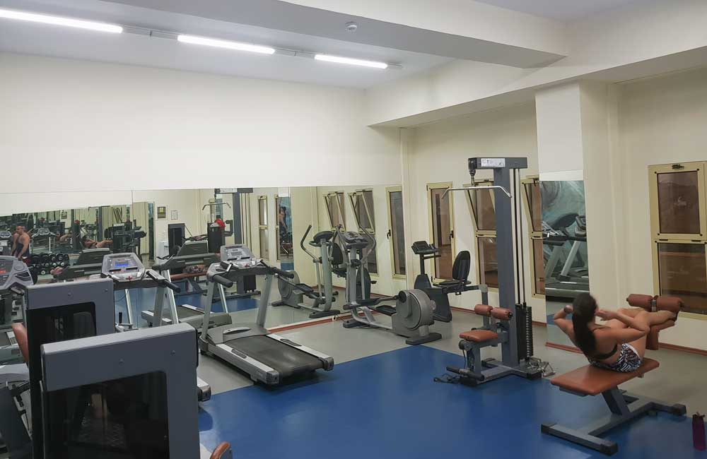 Lindos Princess Hotel gym interior
