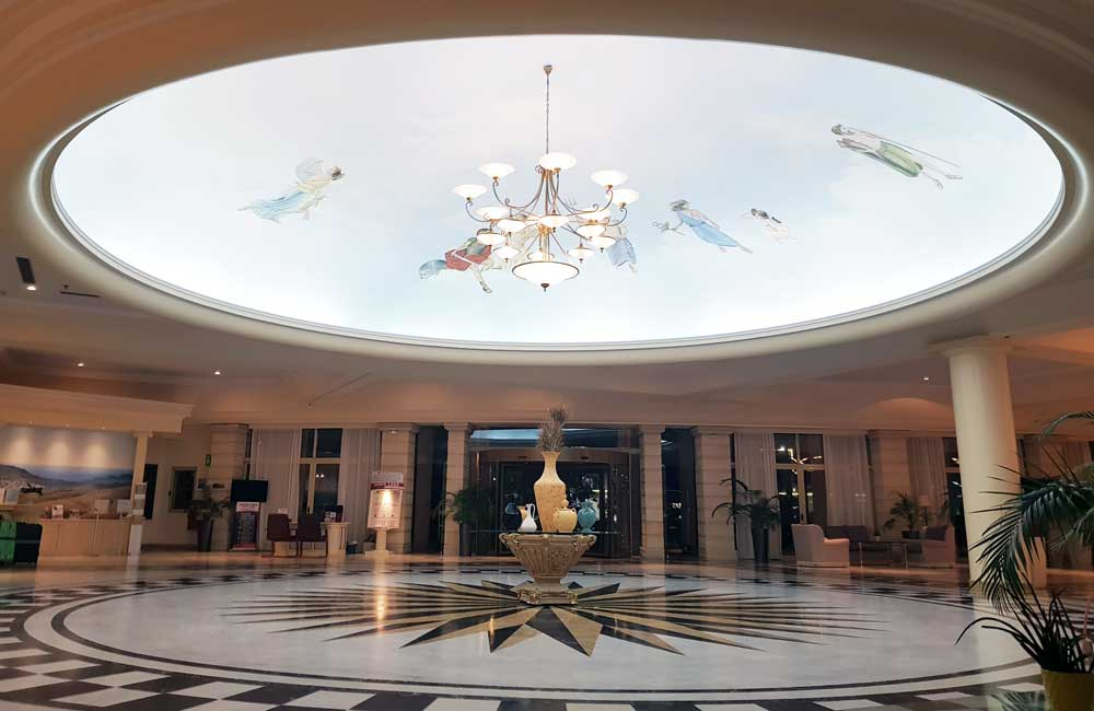Hotel lobby - Lindos Princess Hotel