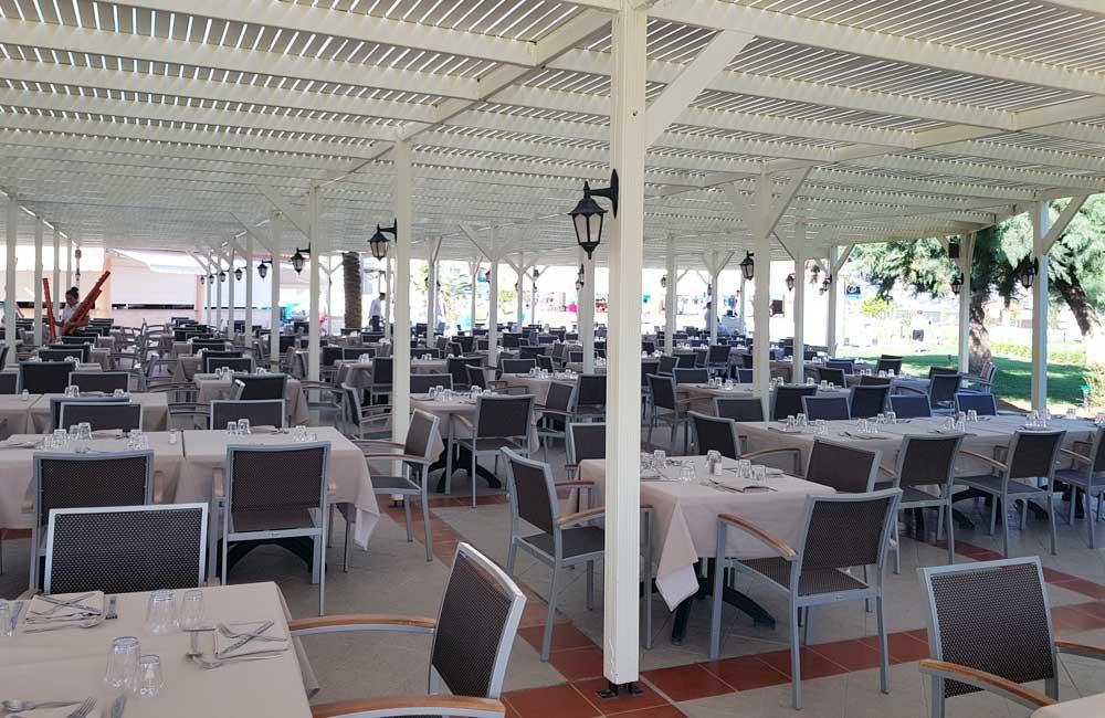 Main pool restaurant - Lindos Princess Hotel