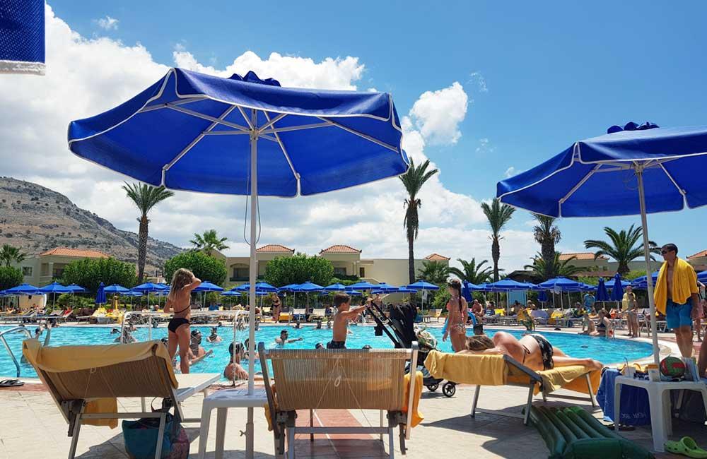 Main pool bar - Lindos Princess Beach Hotel