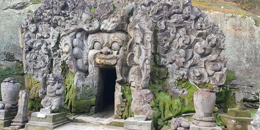 Goa Gajah - Elephant Cave and Temple