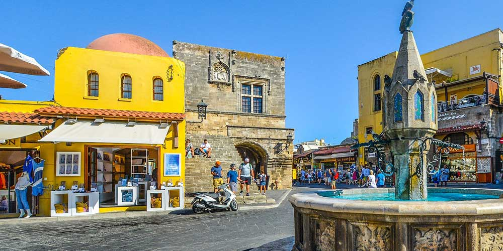 Book your holiday to Rhodes