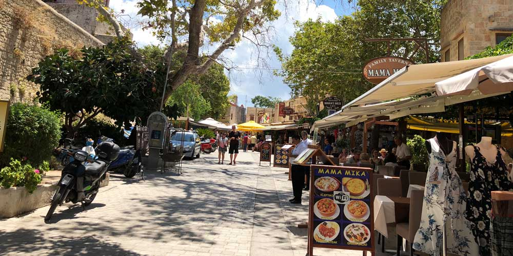 Where to shop in Rhodes Town