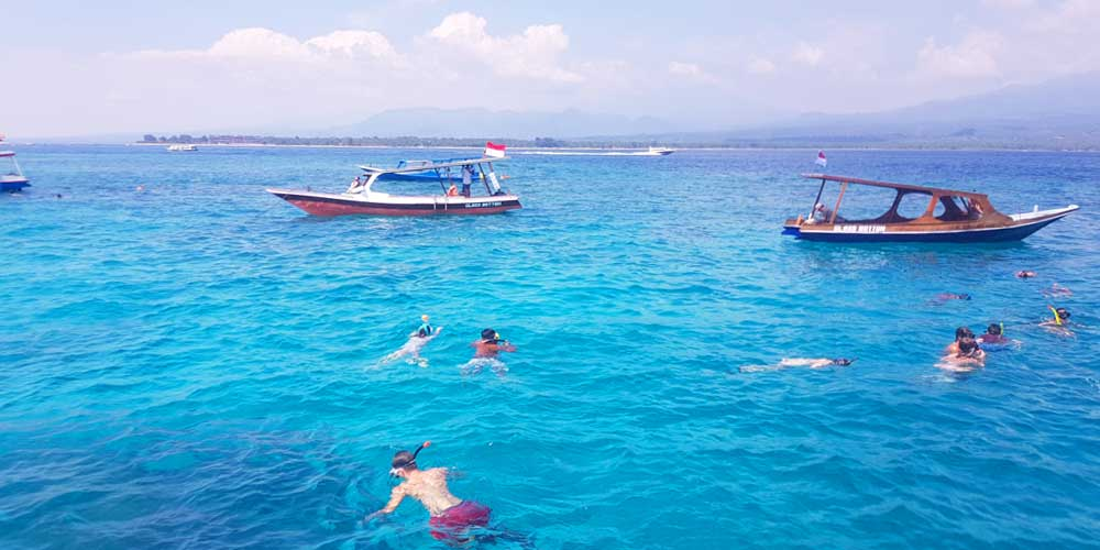 Things to do on Gili Trawangan - boat trip