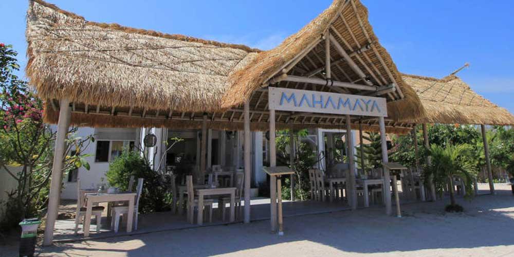 Mahamaya restaurant Gili Meno