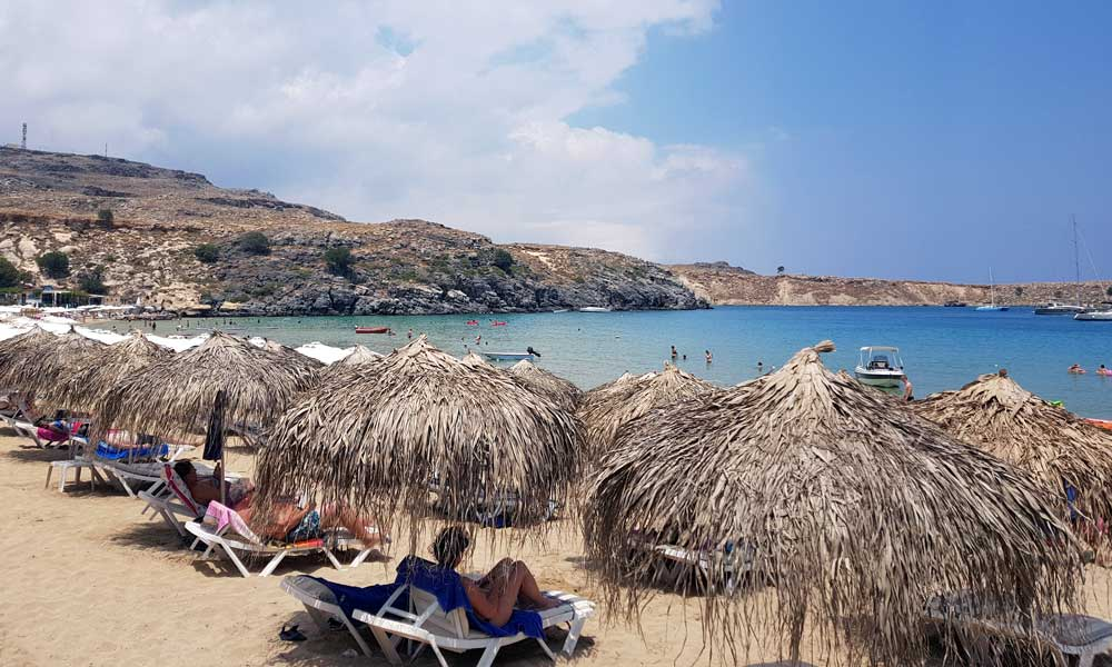 Secluded beaches for couples Rhodes