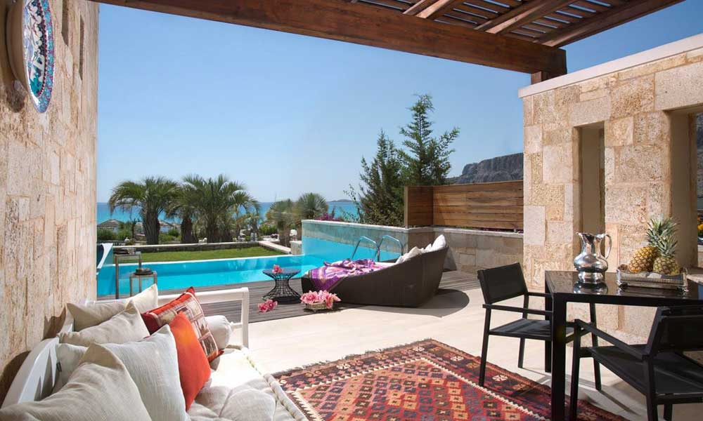 Luxury hotels for couples Rhodes