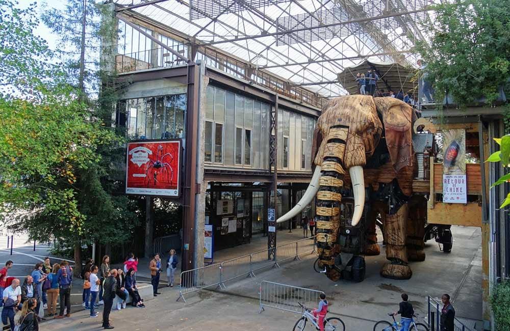 What to do in Nantes - Les Machines des l'ile