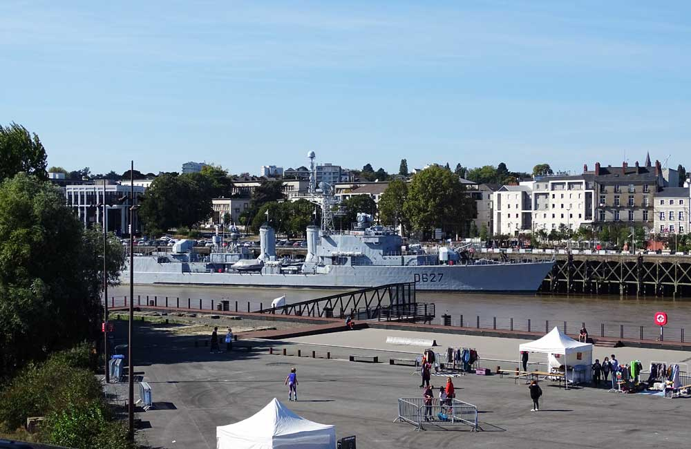 Things to do in Nantes - Belem ship and waterfront