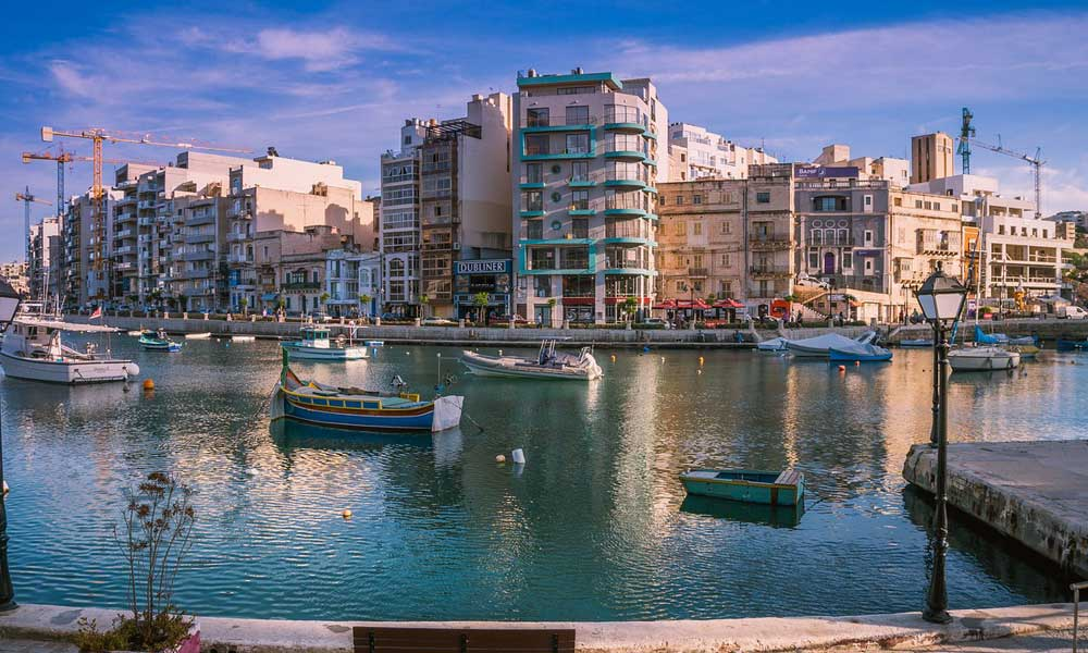 Where to stay in Malta - St Julian's Marina Malta
