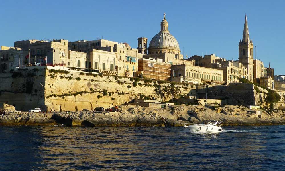 Valletta harbour tour