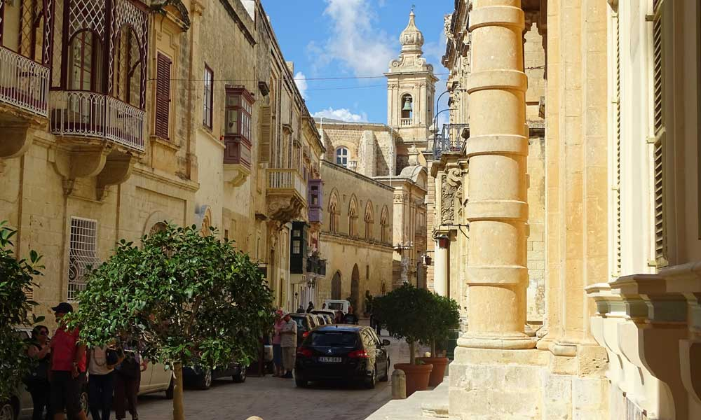 Places to visit in Malta - Mdina
