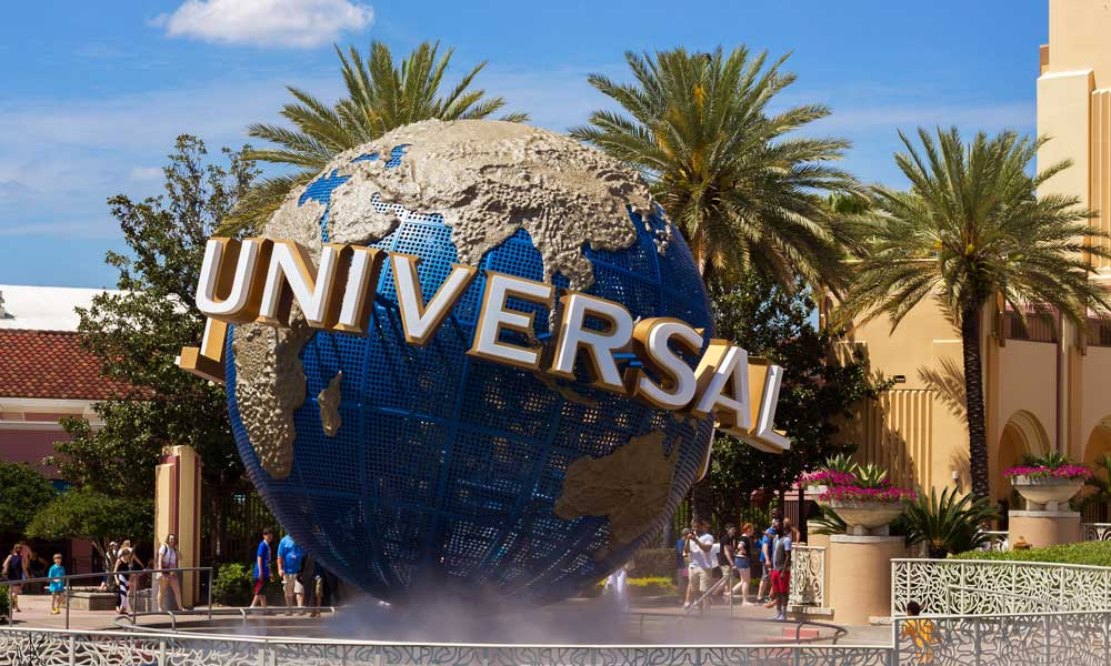 Best Orlando theme parks - Universal Studios globe